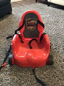 Cars highchair / booster
