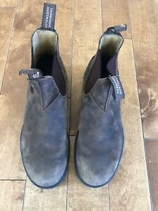 Men's size 8 1/2 Brown Blundstone boots (rounded toe)