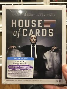 House of cards bluray dvd case