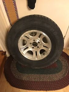 4 ford ranger winter tires and rims