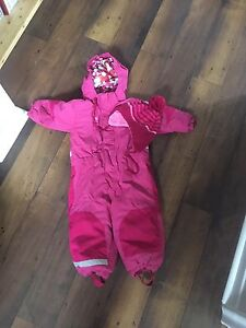 H and M snow suit and hat