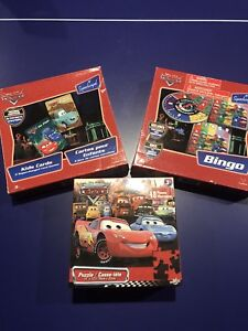 CARS Collection (Card Games(2), Bingo & Puzzle!!!