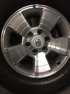 """Toyota Tacoma  17"""" Rims and Tires"""