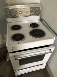 Small old stove