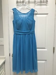 Formal Braidmaids chiffon dress