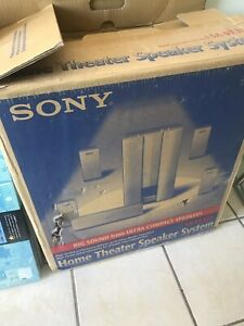 Sony home theatre speaker system