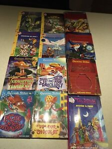 Geronimo Stilton lot de 12