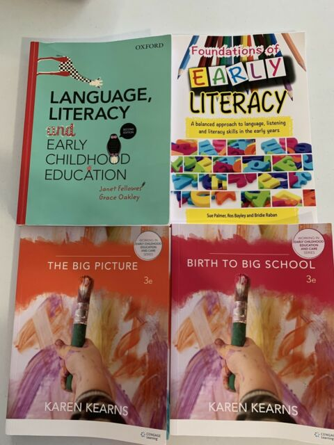 Uni Text Books Early Childhood Textbooks Gumtree Australia