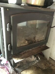 Wood stove suitable for house or shop