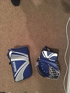 reebok blocker and glove