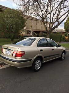 Nissan pulsar 2002 >>> 9 month REGO+ CURRENT RWC>•<<<AUTO & 4 cylinder Oakleigh Monash Area Preview