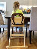 Kids dining room table highchair