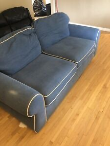 Big blue couch