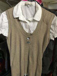 Costa Blanka Women's Polo Shirt with vest for only $5