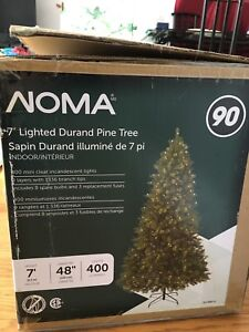 Noma 7' Lighted Christmas Tree