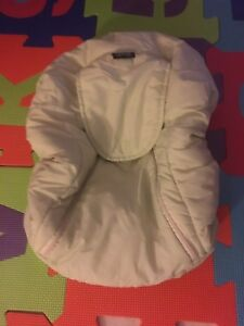 Light green car seat cover