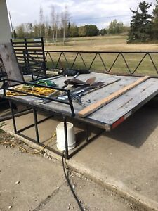 Sled deck, ramp, superclamps