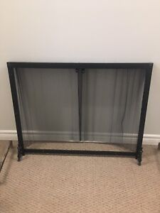 Fireplace Screen and Grate
