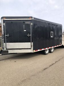 2004 snow king 8x16 enclosed trailer