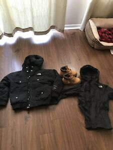 Kids Northface winter and spring jackets $75 for each