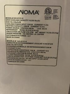 Beat the heat with a Noma 14000 BTU  portable air conditioner