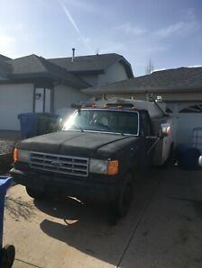 1991 ford service truck