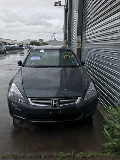 Wrecking Honda Accord