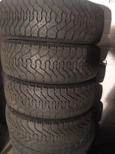 4-205/55R16 Good year winter tires