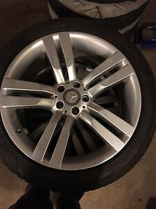 245/45R20 Mercedes Benz rims & Tire package