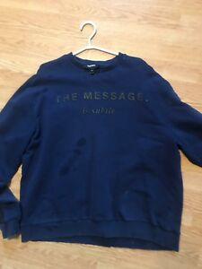 OVER SIZED DIESEL CREW NECK