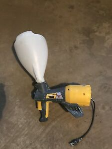 Stipple Spray Gun With Hopper