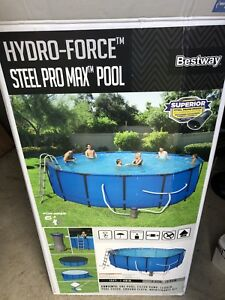 15' hydro force soft side pool