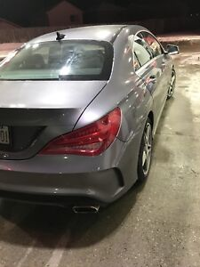 Mercedes CLA250 AMG package