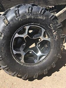 CAN AM stock tires and rims