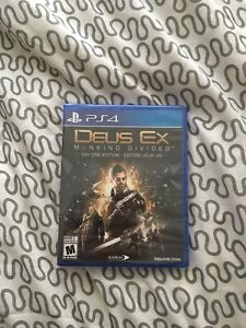 PS4 games mint conditions