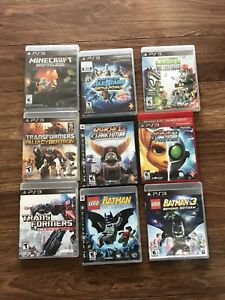 PS3 Lot 9 games