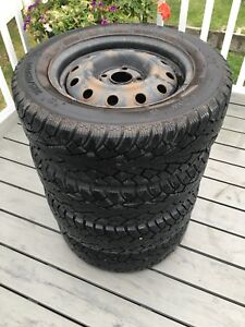 4 - 185/65/14 CH-NOBLE zambonee Winter tires,