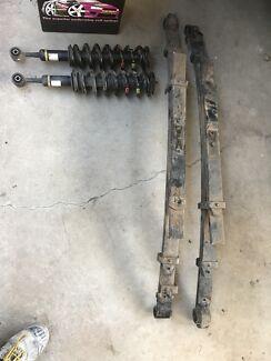 Toyota hilux suspension