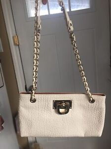 DKNY White elegant bag