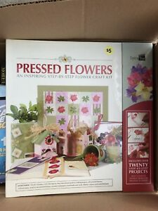 Pressed flower craft kit