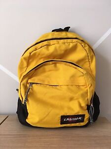 Yellow Eastpak Backpack