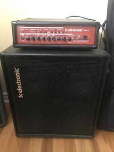 Ampli bass TC Electronic tete et cab 4 x 10 500 Watts