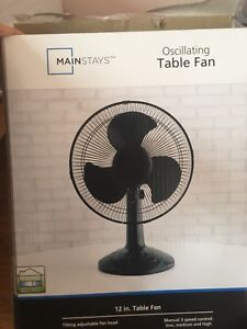 Table Fan Just 15CAD