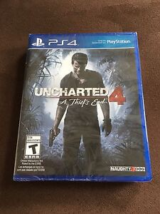 Uncharted 4 Sealed Brand New PS4