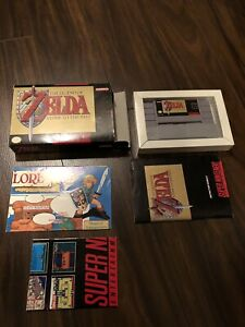 Zelda A Link To The Past (SNES) CIB