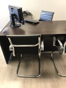Modern office chairs like new!