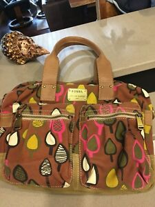HAPPY spring FOSSIL bag