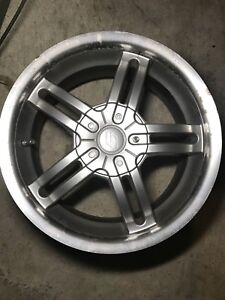 """16"""" Ally Rims with Multi Bolts Pattern and Tpms"""