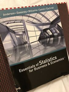 Essentials of Statistics for Business and Economics (Brand New)