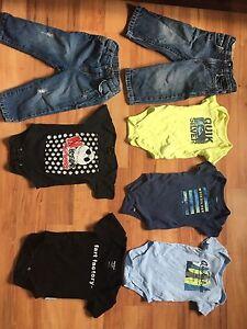 Bag of boys clothes 12 -18 months